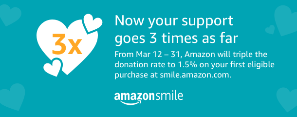 AmazonSmile-2018 March Donation Rate